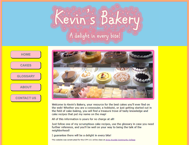 Kevin's Bakery